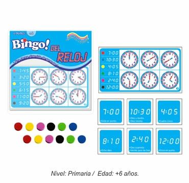 Bingo del Reloj
