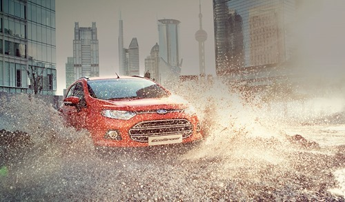 福特 Ford Ecosport 都市輕休旅.果真沒錯! E05