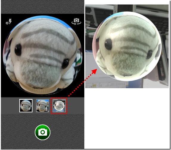 手機拍出魚眼效果,「Fisheye Camera Live」一鍵搞定 kkplay3c-Fisheye-Camera-Live-4_thumb