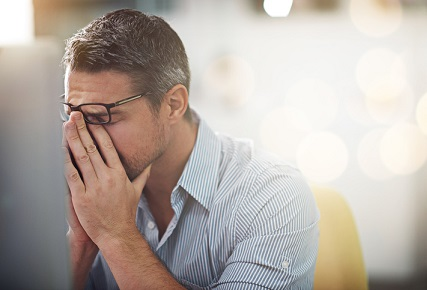 iStock sad disappointed frustrated burnout stressed overworked 483411808 - Budget Direct Insurance moves to counter dropping job satisfaction