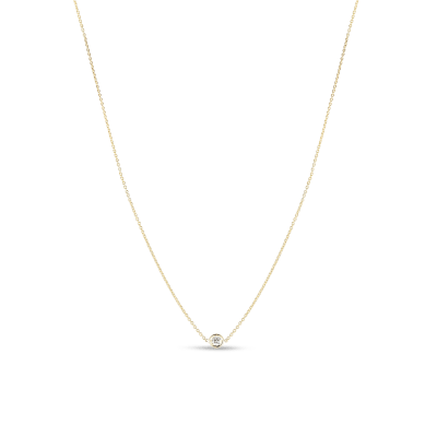 Necklace with 1 Diamond Station