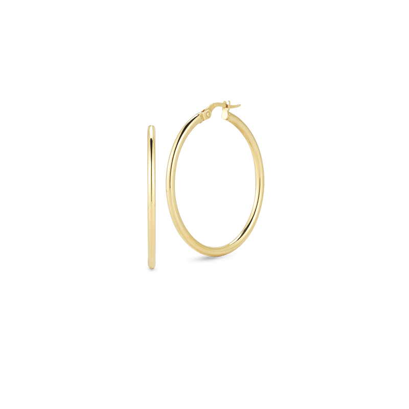 Roberto-Coin-Perfect-Gold-Hoops™-18K-Yellow-Gold-Medium-Round-Hoop-Earrings-556024AYER00