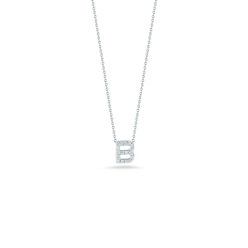 Roberto-Coin-Tiny-Treasures-18K-White-Gold-Love-Letter-B-Pendant-with-Diamonds-001634AWCHXB