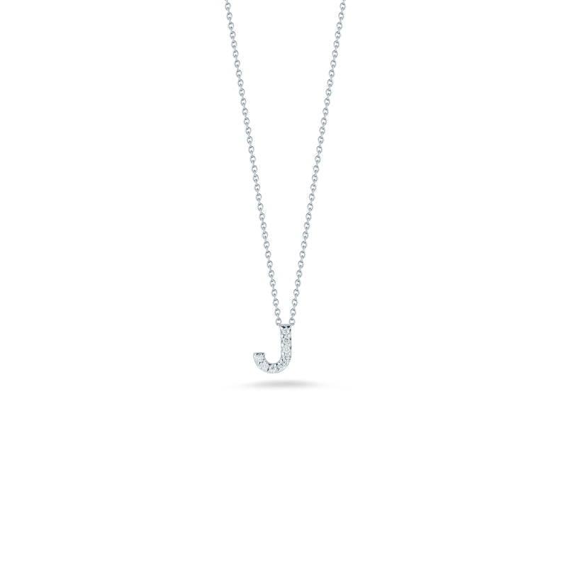 Roberto-Coin-Tiny-Treasures-18K-White-Gold-Love-Letter-J-Pendant-with-Diamonds-001634AWCHXJ