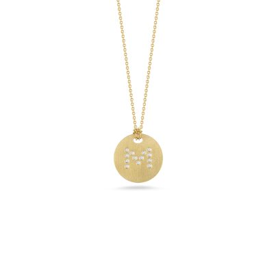https://i1.wp.com/us.robertocoin.com/wp-content/uploads/2015/08/Roberto-Coin-Tiny-Treasures-18K-Yellow-Gold-Disc-Pendant-with-Diamond-Initial-M-000801AYCHXM.png?resize=400%2C400&ssl=1