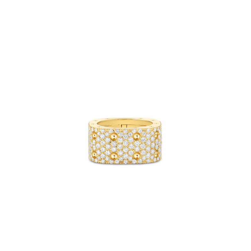 Roberto-Coin-Pois-Moi-18K-Yellow-Gold-2-Row-Square-Ring-with-Diamonds-888705AY50X0