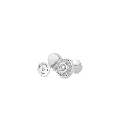 Horse Cufflinks With Diamonds