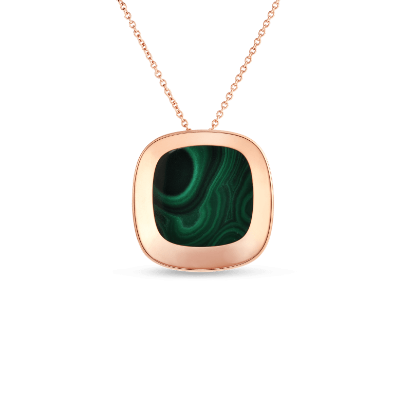 Roberto-Coin-18k-rose-gold-large-Pendant-with-Malachite-8882215AX28M