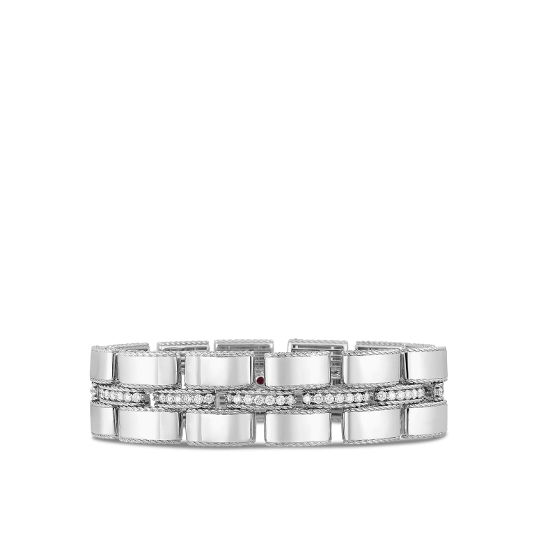 Roberto-Coin-18k-white-gold-Wide-Retro-Link-Bracelet-with-Diamond-Connectors-7771397AWLBX