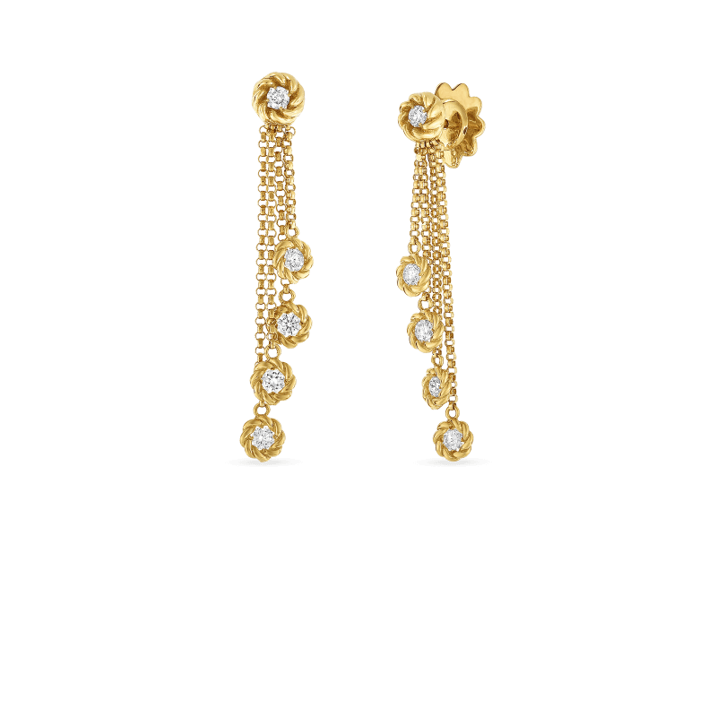 Roberto-Coin-18k-yellow-gold-Drop-Earrings-with-Diamond-Stations-7771333AYERX