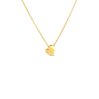 Product 18kt gold princess heart amore necklace