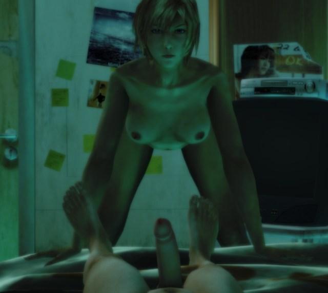 3d Aya_brea Breasts Dudehentai Erect_nipples Erection Female Nipples Nude Parasite_eve Penis Small_breasts Spread_legs Xnalara