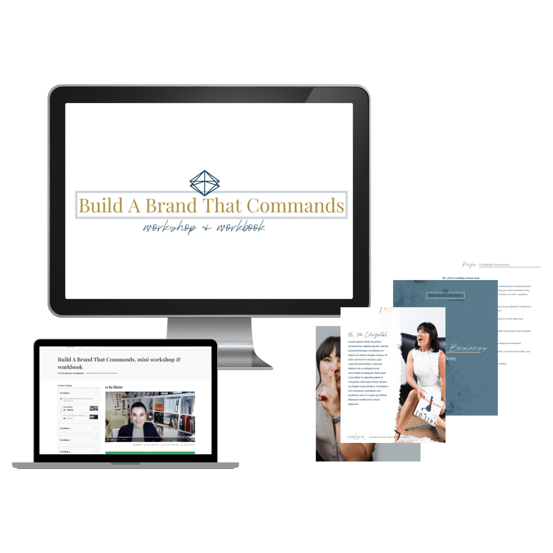 Build A Brand That Commands Mini Workshop Amp Workbook