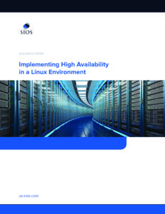White Paper: Implementing High Availability in a Linux Environment