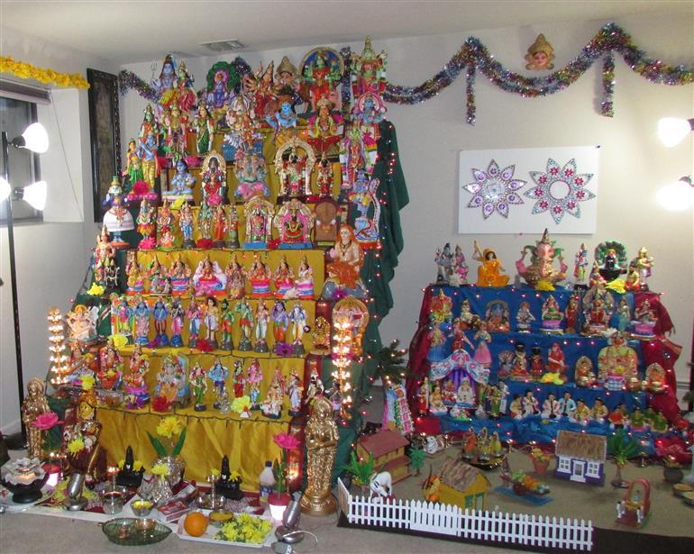 Navarathri Golu 2013 - By: Kalyani and Priyanka Narayanan