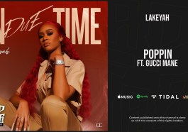 DOWNLOAD MP3: Lakeyah – Poppin ft Gucci Mane