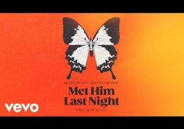 DOWNLOAD MP3: Demi Lovato – Met Him Last Night (Dave Audé Remix / Audio) ft. Ariana Grande