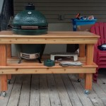 Cedar Table Big Green Egg Egghead Forum The Ultimate Cooking Experience