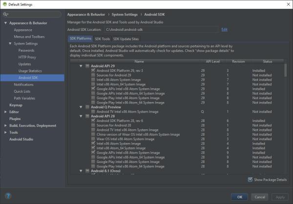 Android 10 Emulator setup — Xamarin Community Forums