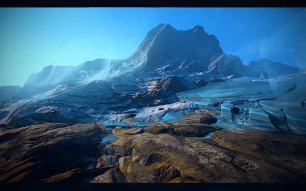 World Machine UE4 landscape Studies — polycount