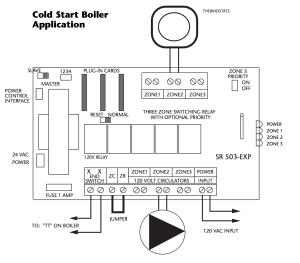Wiring the circulator pump to an everhot tankless water