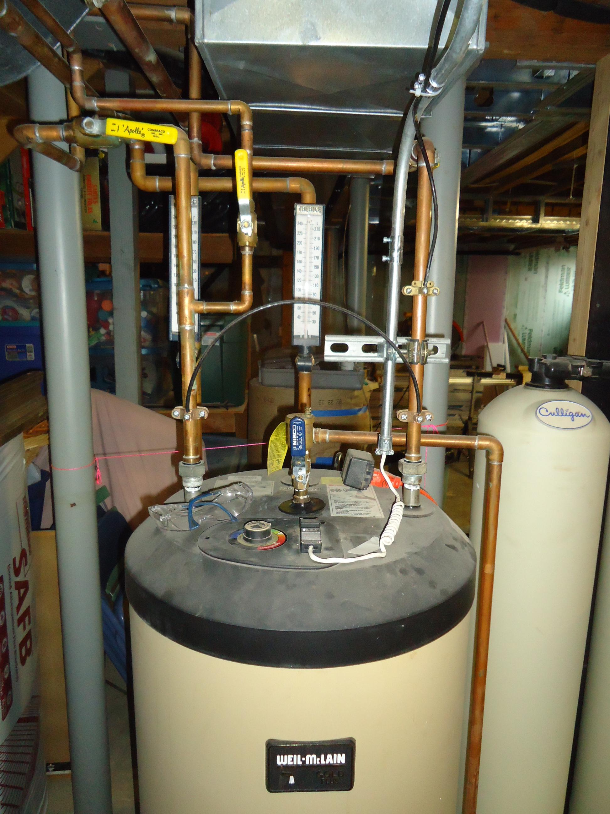 Boiler Piping Water Diagram