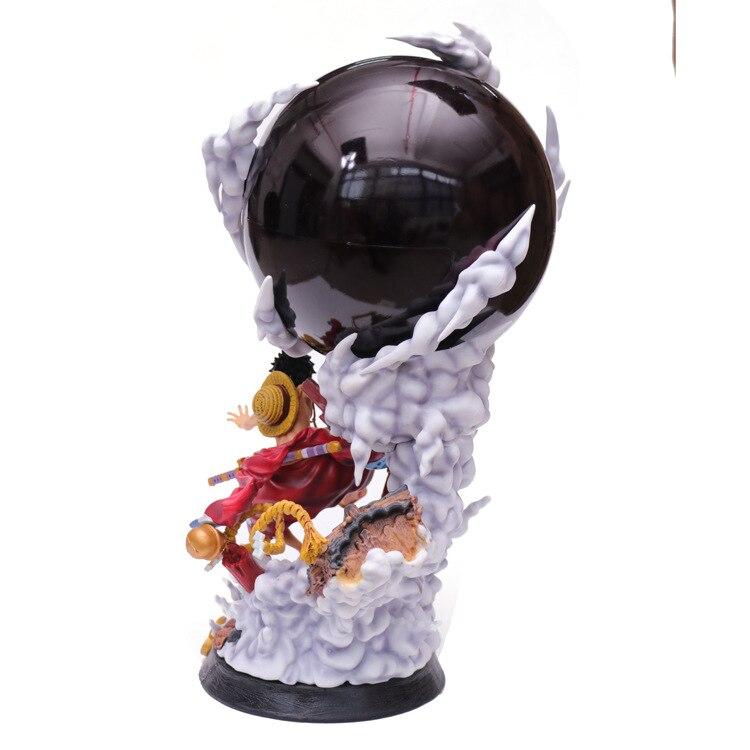 One piece world figure colosseum 3 super master stars monkey d. Anime One Piece Land Of Wano Country Monkey D Luffy Gear 3 Pvc Action Figure Collection