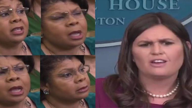 April earns worse question ever asked in the hallowed halls of the press corp. Feature photo credit to US4Trump for compiled video screen captures.