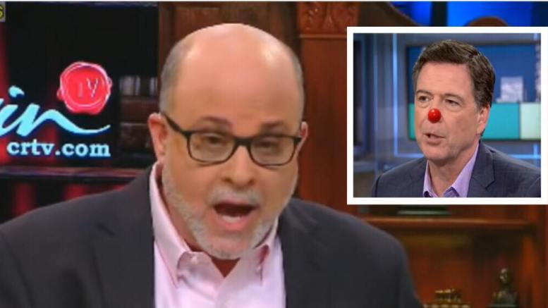 Mark Levin joins Brian Kilmeade on Fox and Friends. Fox & MSNBC screen captures and enhancement photo credit to US4Trump.