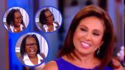 Judge Pirro diagnosis Whoopi with full blown TDS. Photo credit to US4Trump screen capture compilation enhancements.