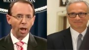 Rosenstein and Baker showdown and President Trump meets with Rosenstein on Air Force One. Photo credit to US4Trump compilation with video screen shots.
