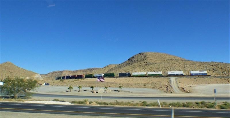 Zug durch Nevada