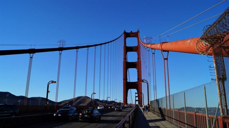 riesige Golden Gate Bridge