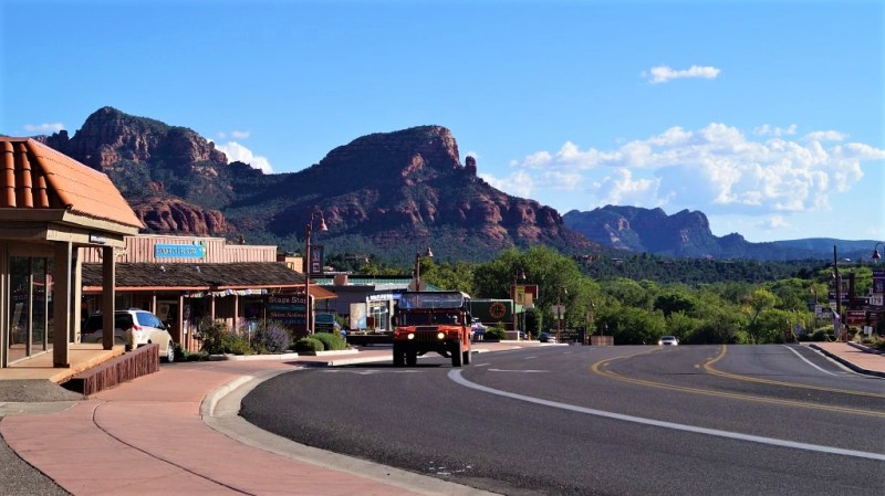 Sedona in Arizona