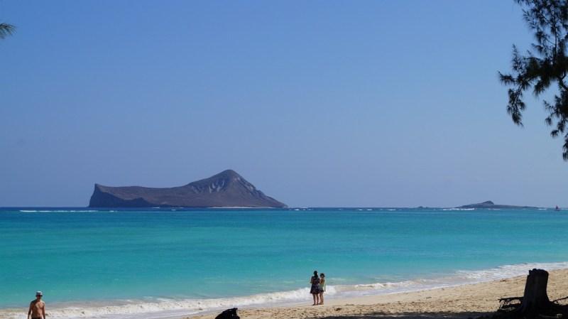 blaues Meer auf Hawaii