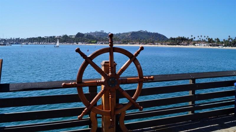 Stearns Wharf - Hafen von Santa Barbara