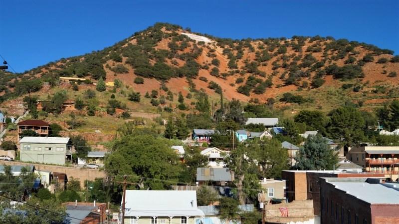rote Berge in Bisbee
