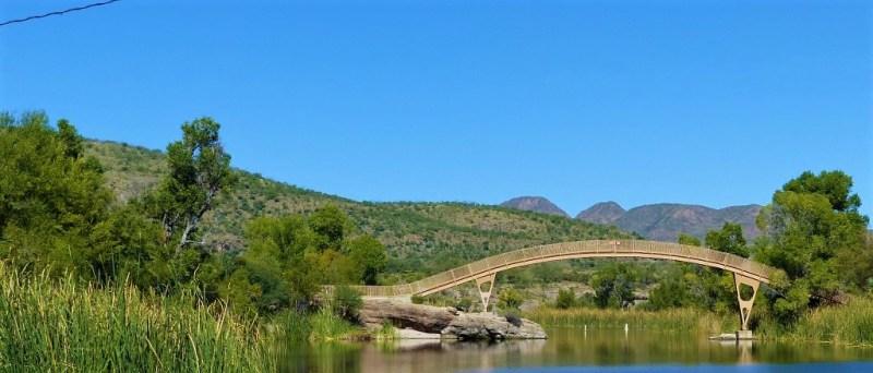 Brücke am Patagonia Lake