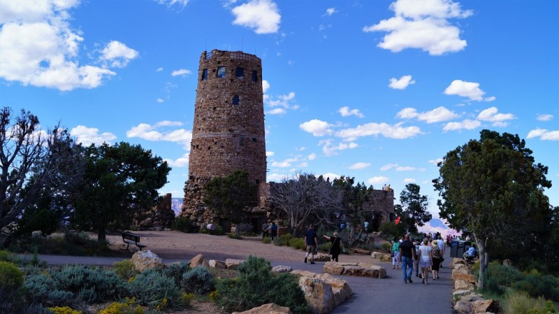 Turm am Grand Canyon