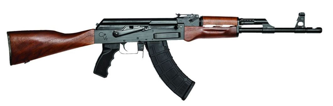 Century Arms C39v2, a modern day AK-47 that you can buy off the shelf for that good old fashioned Russian gun feeling.