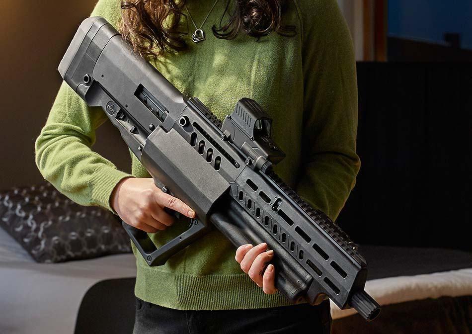 Tavor 12 Shotgun, a beast of a home defense gun with 15 rounds