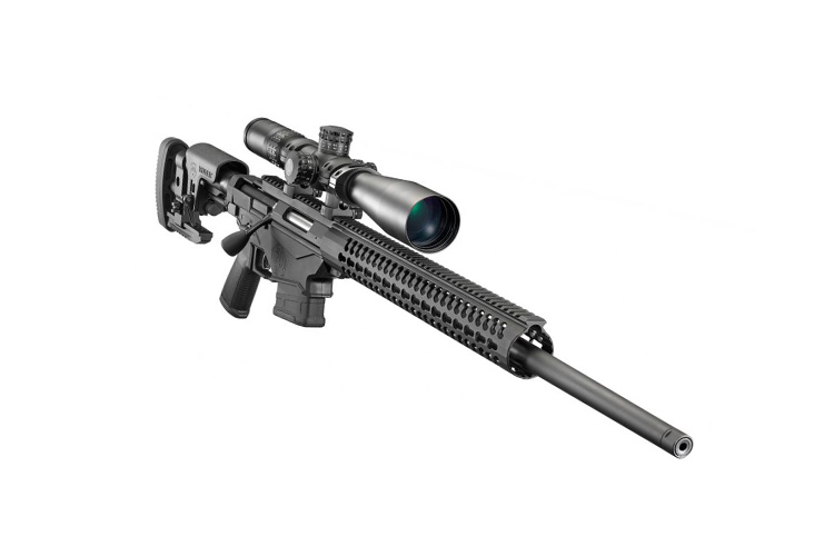Ruger Enhanced Precision Rifle chambered in 6.5 Creedmoor. A great long-distance shooting rifle on a budget.
