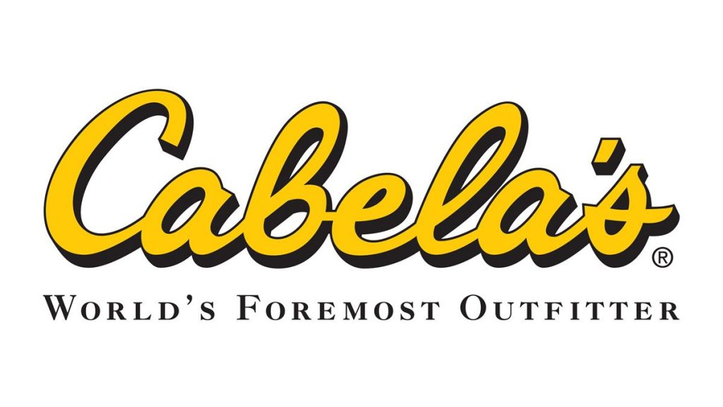 Cabela's, one of the biggest online gun shops and a fine retailer of outdoor apparel, camping gear and just about everything else.