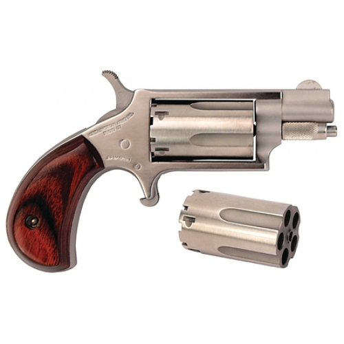 North American Arms Mini Revolver. It's fun, and we it could be a modern day Derringer.
