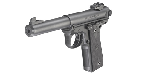 Ruger Mk4 Target for sale Black Synthetic and one of the best simple range shooters you can buy.