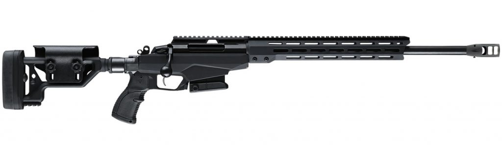 Tikka T3X TAC Creedmoor 6.5 rifle on sale here. A great long distance target rifle. Not the best hunting rifle.