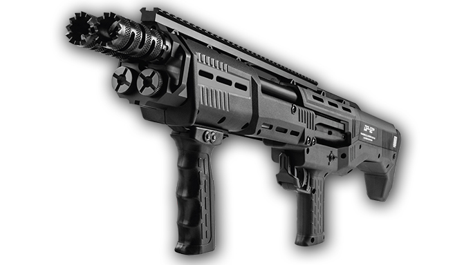 Double barrel shotgun DP-12