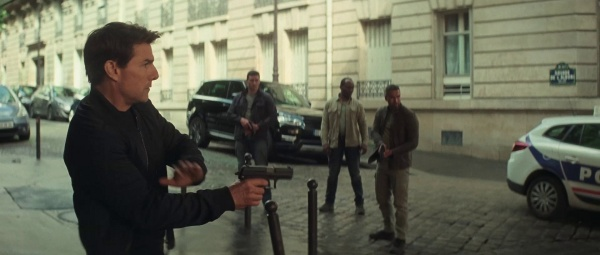 Tom Cruise with HK USP in Mission impossible Fallout