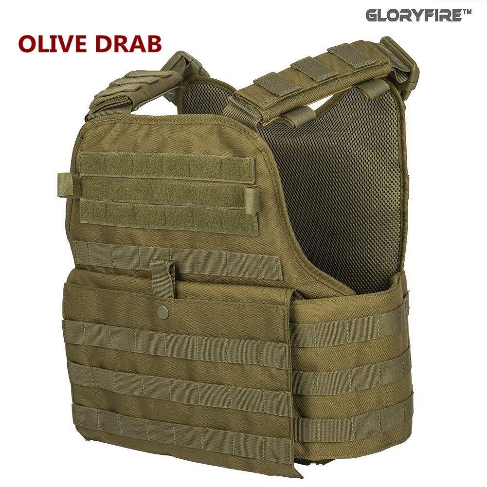 Olive bulletproof vest on Amazon