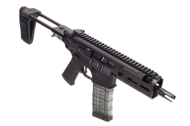 Sig Sauer Rattler MCX PSB 300 Blackout, designed for concealed carry with stable twin-prong rear brace for sale